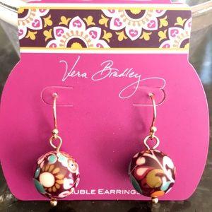 Vera Bradley bauble earrings